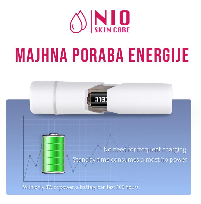 spray - mala poraba energije